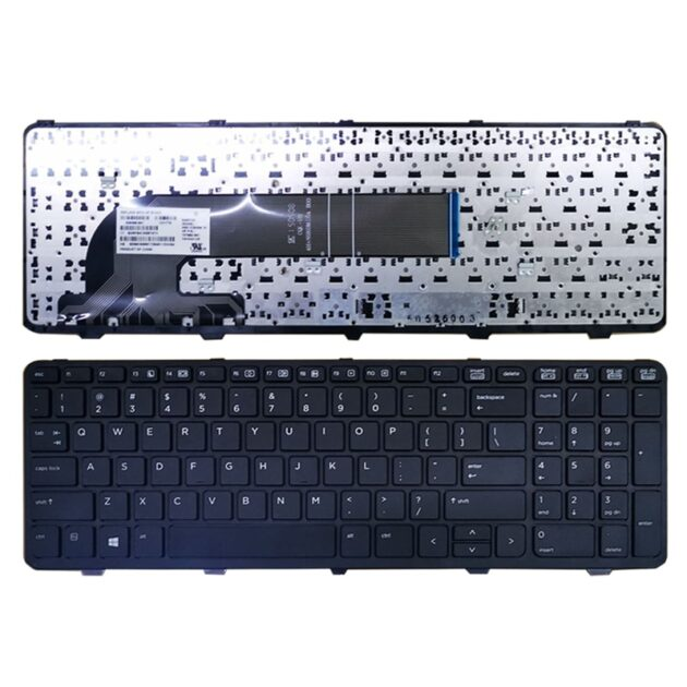 US laptop keyboard For HP PROBOOK 450 G0 450 G1 450 G2 455 G1 455 G2 470 G0 470 G1 470 G2 keyboard with frame