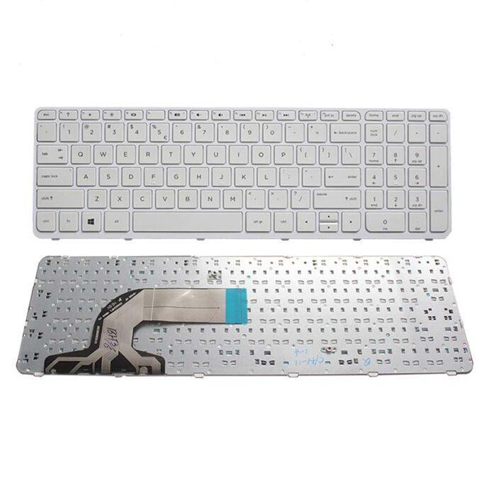 US laptop Keyboard FOR HP pavilion 15-N 15-E 15E 15N 15T 15 t -N 15-N000 N100 N200 15-E000 15-E100 white/black with frame