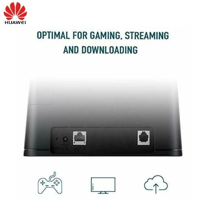 Unlocked Huawei B310S-925 4G LTE CPE 150mbps WIFI Router Hotspot Up to 32 wireless users plus 2pcs antennas