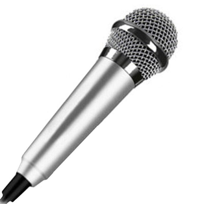 Mini mobile phone microphone mobile phone recording sing small microphone small microphone