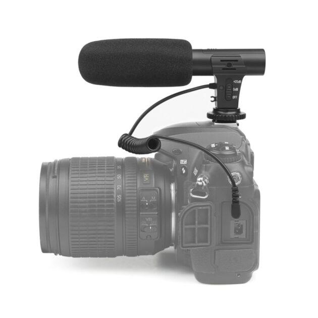 Digital Video Recording Microphone Stereo Camera Mic