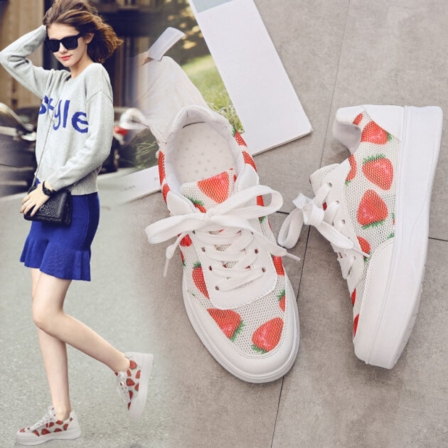 Strawberry or Cherry Sneakers