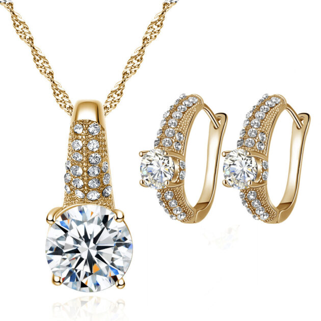 Jewelry, Bridal Necklace, earring set, fashion girl, bridal suit, accessories