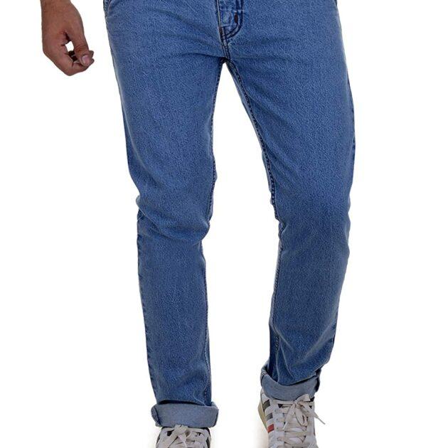 Ben Martin Men's Relaxed Fit Jeans (BM-JJ9-LB-P2-36_Light Blue_36)