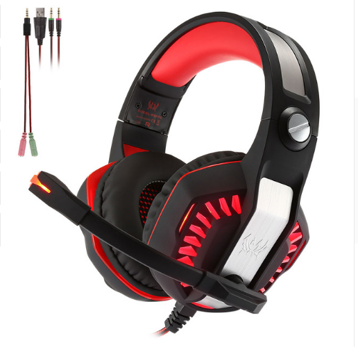 Computer Gaming Headset Headset E-sports Headset with Microphone Microphone