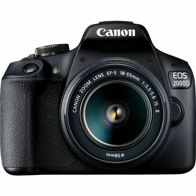 Canon EOS 2000D + EF-S 18-55mm IS II Lens DSLR 24.1 MP 2728C006