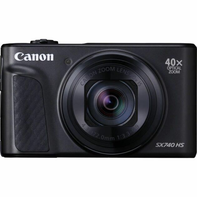 Canon PowerShot SX740 HS Compact Digital Camera WiFi 20.3 MP Black 2955C011