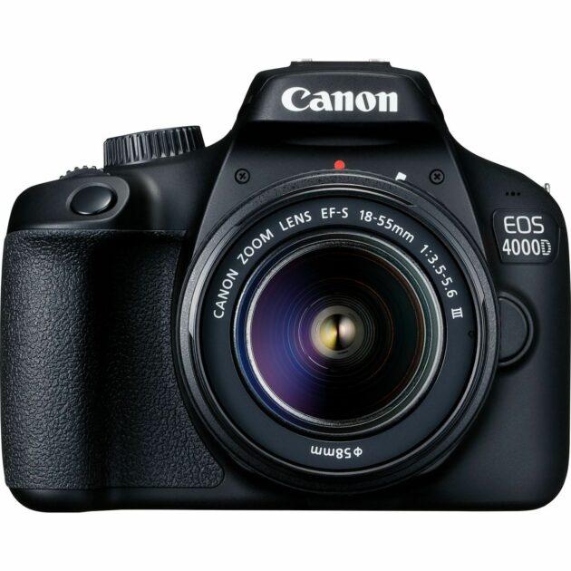 Canon EOS 4000D Body + EF-S 18-55mm III Lens DSLR Camera 18MP 3011C006