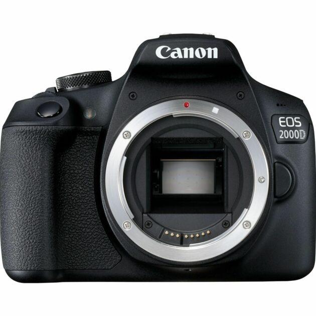 Canon EOS 2000D Body Compact Digital DSLR Camera Wi-Fi 24.1 MP 2728C004