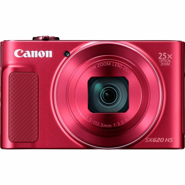 Canon PowerShot SX620 HS Digital WiFi Camera 4.5-112.5mm IS Red 1073C014