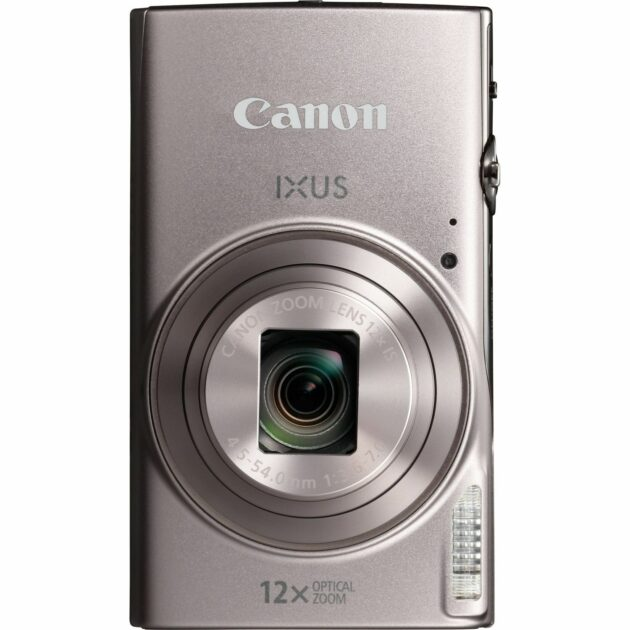 Canon IXUS 285 HS WiFi Camera 4.5-54mm f/3.6-7.0 IS 12x Zoom Silver 1079C007