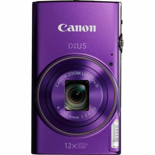 Canon IXUS 285 HS WiFi Camera 4.5-54mm f/3.6-7.0 IS 12x Zoom Purple 1082C006