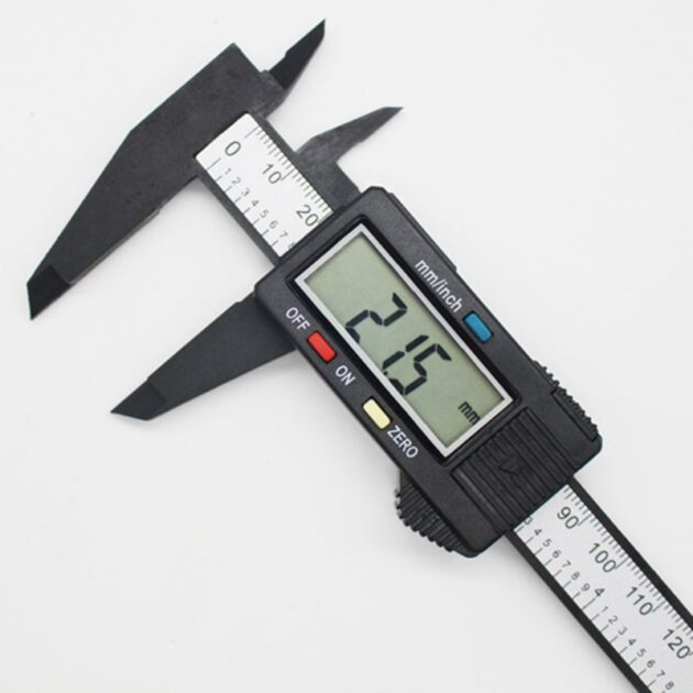 150mm 0-6 Inches Electronic Digital Caliper with Large LCD Screen Micrometer Measuring Tool Inch/Fraction/mm Conversion
