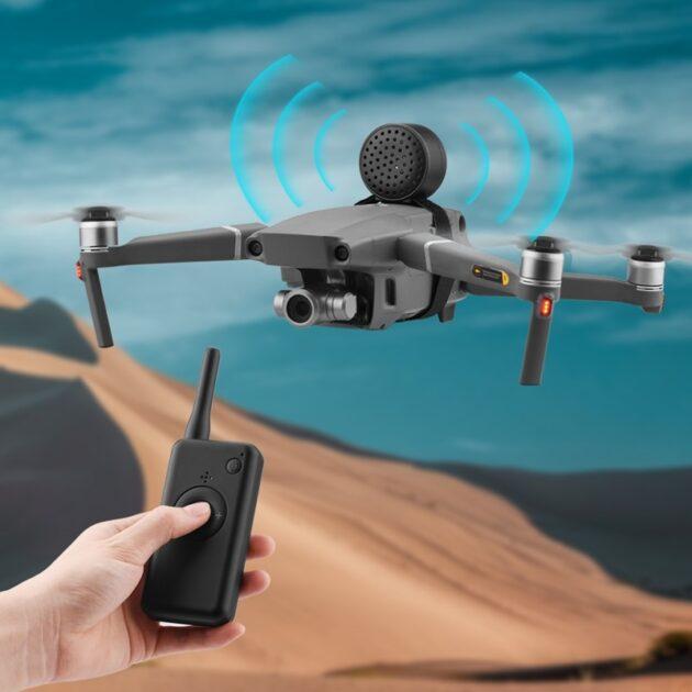 Universal Wireless Speaker USB Spare Parts Remote Control Loud Drone Megaphone