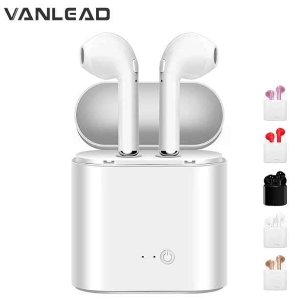 i7s TWS Wireless Earphones Bluetooth headphones sport Earbuds Headset With Mic Earpiece For phone Xiaomi Samsung Huawei oppo