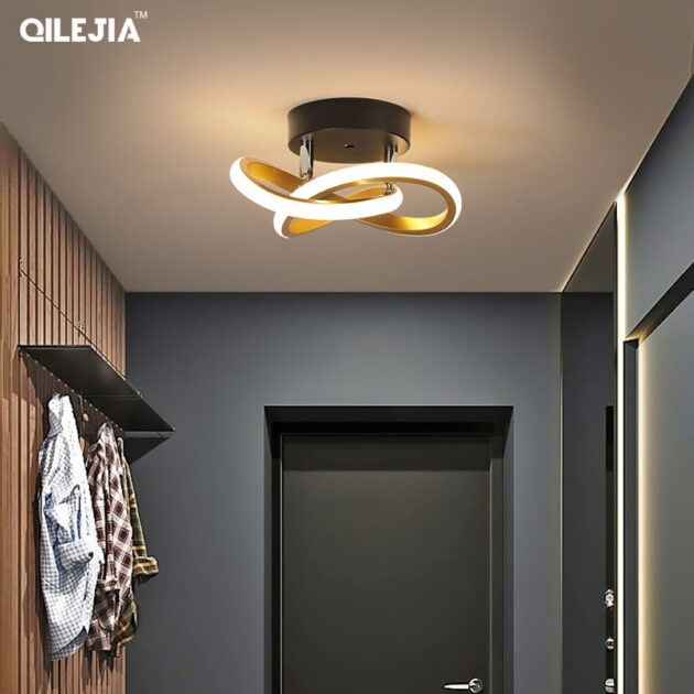 led ceiling light modern minimalist balcony aisle lamp home corridor porch channel ceiling lamp nordic ins wind cloakroom lamp