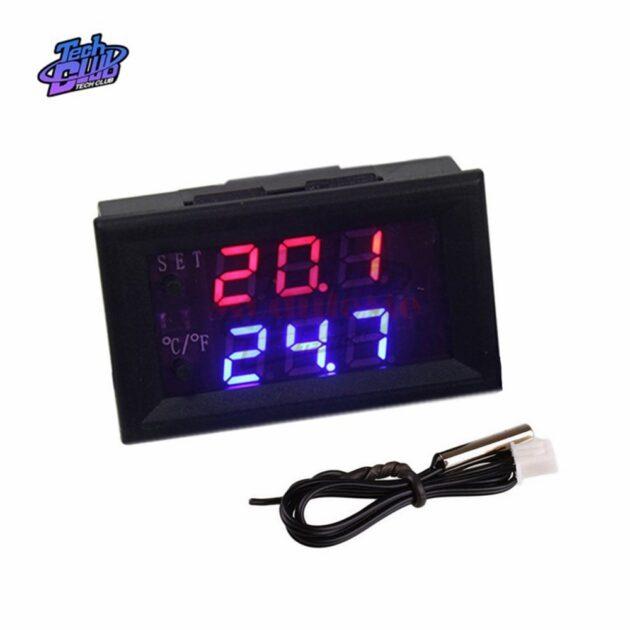 W1209 W1209WK LED Digital DC 12V Temperature Controller Thermostat Regulator Adjustable Thermometer Incubator Box Temp Sensor