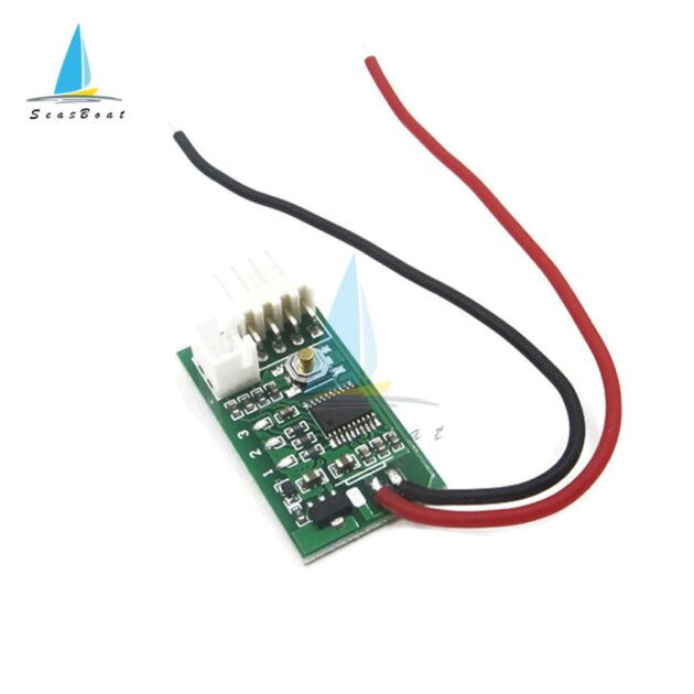 DC 12V PWM 4-Wire Temperature Controller Fan Speed Governor PWM Speed Controller Switch Temperature Control Governor for PC Fan