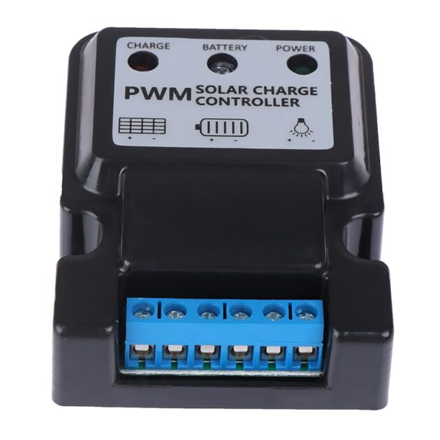 1Pc Durable 6V 12V 10A Auto Solar Panel Charge Controller Battery Charger Regulator Home Improvement