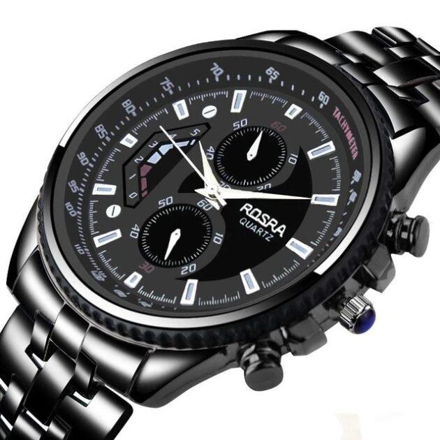 Men's Steel Belt Fashion Quartz Watch