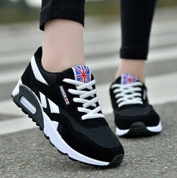 Autumn and winter new mesh cushion shoes women's shoes Korean sports casual and comfortable breathable light running shoes