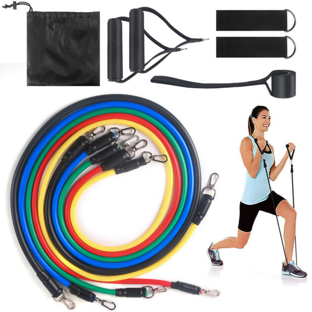 Fitness Resistance Bands Set