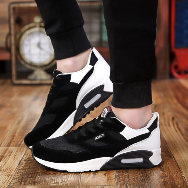 Breathable Outdoor Running Shoes Non-Slip Wear-Resistant Air Cushion Sneakers