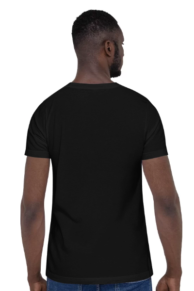 Digital Color Printing Personalized Casual Short Sleeve T-Shirt