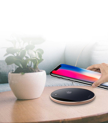 Ultra-thin aluminum alloy wireless charger