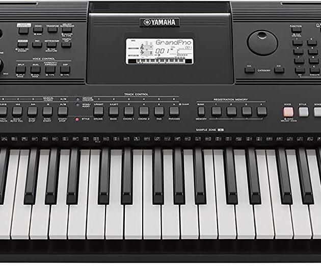 Yamaha Digital Keyboard PSR-SX600