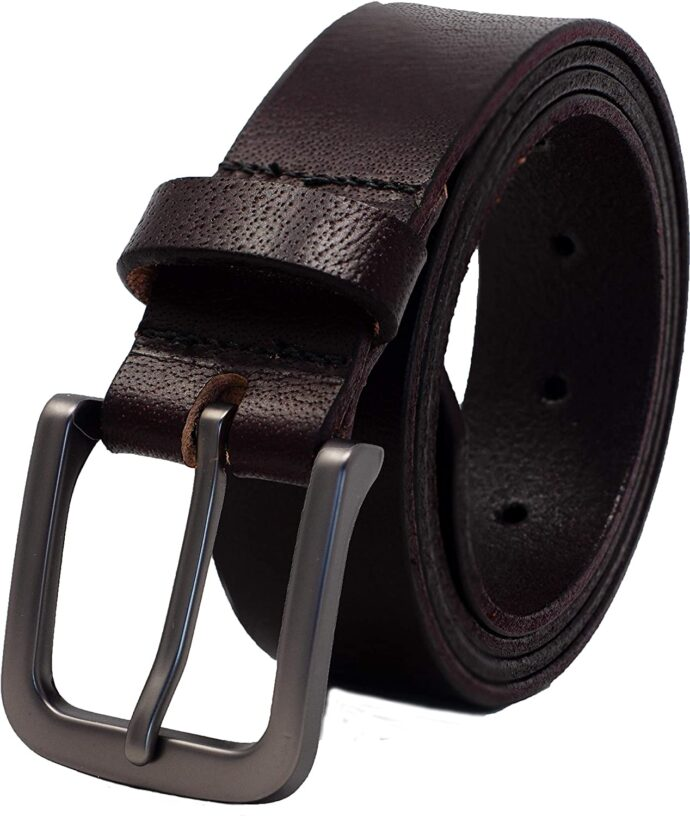 "Ashford Ridge 34mm (1.25"") Full Hide Leather Belt"