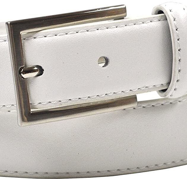 "Ashford Ridge Mens 30mm (1.25"") Suit Trouser Leather Belt"