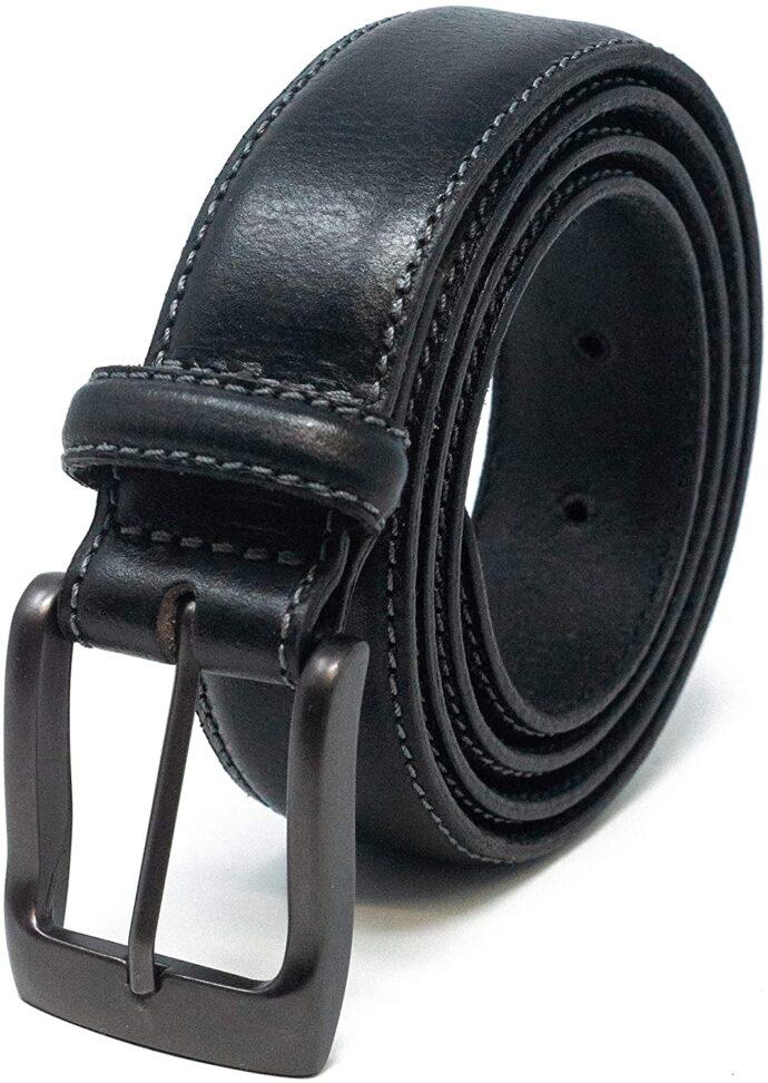 Ashford Ridge Mens 32mm Full Leather Suit Trouser Belt