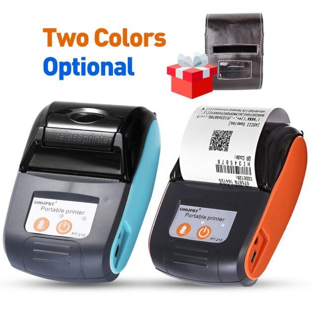 Mini Bluetooth Thermal Printer Mini Wireless Mini Protable Printer Receipt Free Loyverse POS app on Android Phone printer